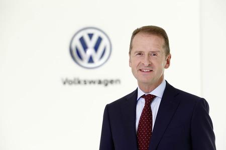 Herbert Diess CEO grupo Volkswagen