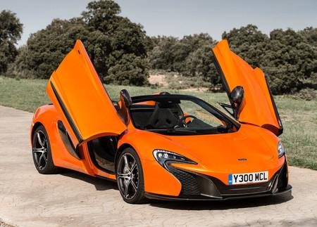 Así se abren las puertas del McLaren 650S Spider