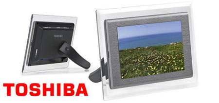 "Marco digital panorámico de Toshiba: ""Marco TekBright"""