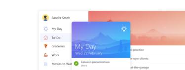 Microsoft ya tiene sustituto de Wunderlist, se llama To-Do y ya está disponible para iPhone
