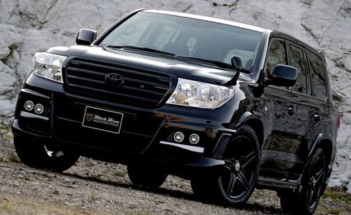Toyota Land Cruiser Black Bison