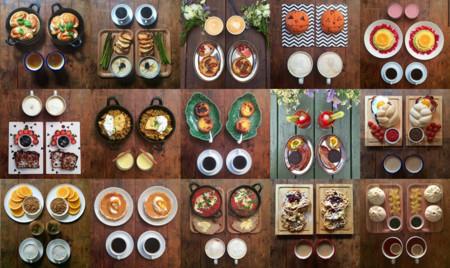 Comida y simetría: una combinación que demuestra que el arte también puede lucir delicioso