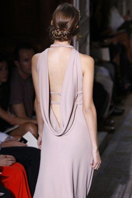 Escote espalda Valentino Alta Costura