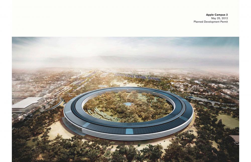 Foto de Proyecto original del nuevo campus de Apple (6/27)