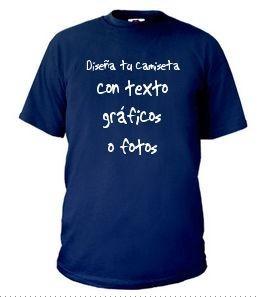 Diseña tu propia camiseta