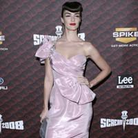 Paz Vega de Hannibal Laguna en los premios Scream celebrados en Los Ángeles
