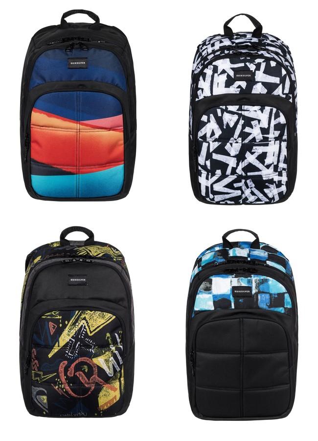 Chollazo en eBay: mochila  Quiksilver Burst de 20L en cuatro modelos por 13,80 euros con envío gratis