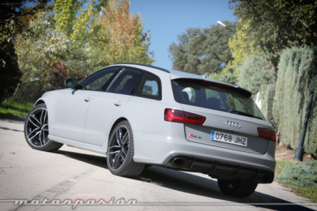 Audi RS6 Avant Prueba 15