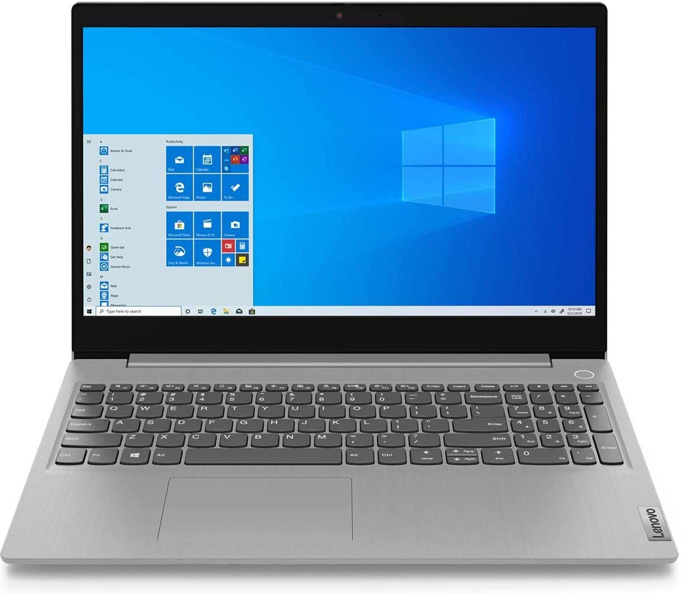 Laptop Lenovo IdeaPad 3 con 1 TB HDD, 128 GB SSD, Intel Core i3 de décima generación y pantalla de 15.6 pulgadas