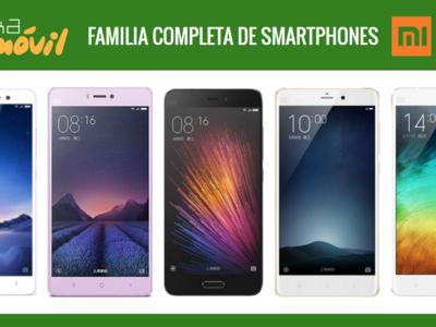 Así queda el catálogo completo de móviles Xiaomi tras la llegada del Xiaomi RedMi PRO
