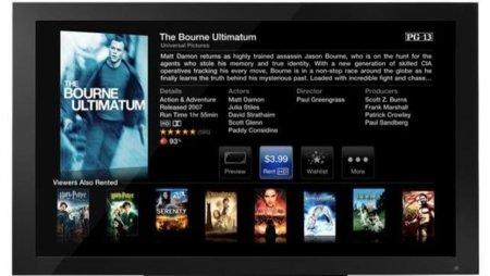 Apple TV iTunes