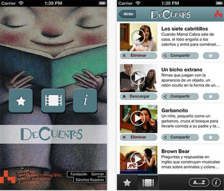 DeCuentos: la aplicación para descubrir historias tradicionales y modernas