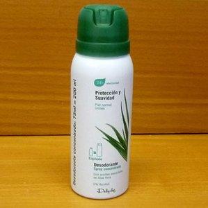 Desodorante Deliplus concentrado, 75 ml. que cunden como 200 ml. Lo probamos
