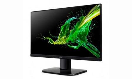 Si buscas monitor económico para teletrabajar, en los Días Naranjas de PcComponentes tienes el Acer KA242Ybi por sólo 99,99 euros