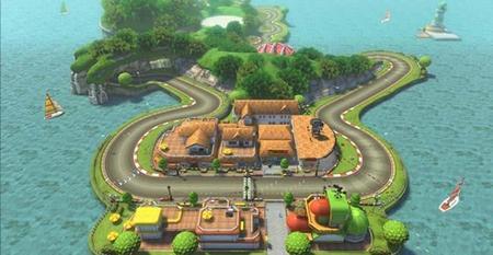 El primer DLC  de Mario Kart en video con el circuito de Yoshi incluido