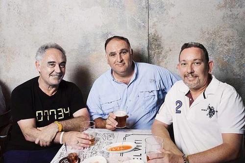 José Andrés y los hermanos Adrià unen fuerzas para inaugurar un enorme espacio gastronómico español en Nueva York