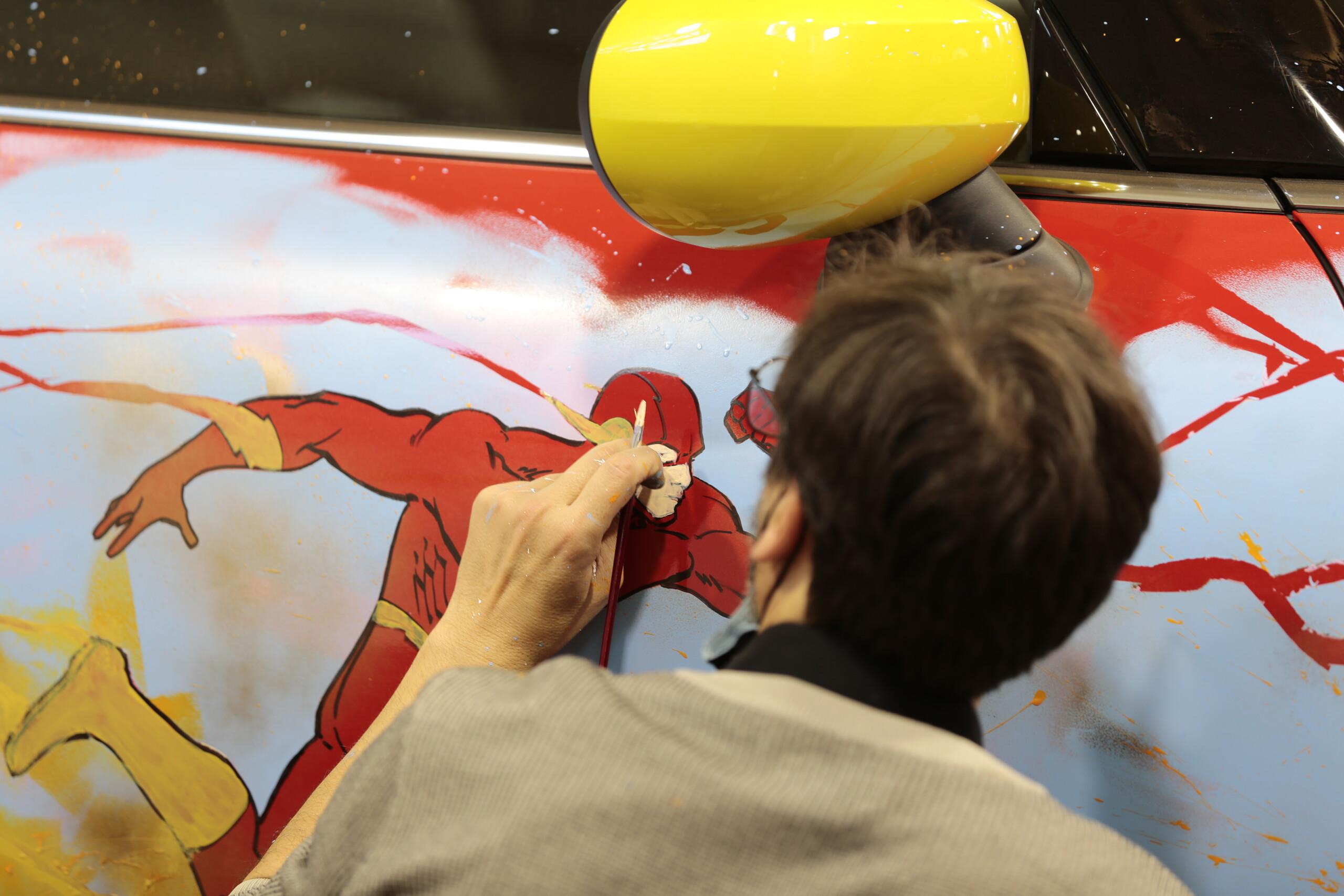 Foto de MINI Electric tributo a Flash (2/9)