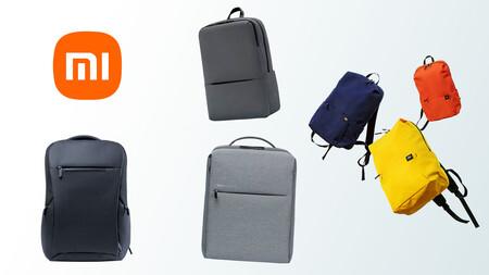 Repasamos las mochilas que Xiaomi vende en España para ver cuál te puede interesar más