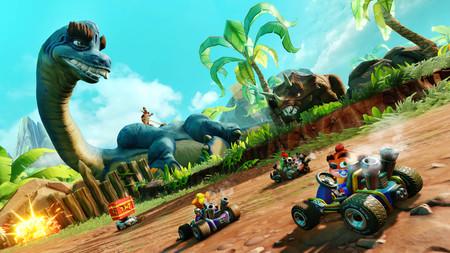 Crash Team Racing: Nitro-Fueled iniciará esta semana su segundo Grand Prix con nuevos personajes y un circuito prehistórico
