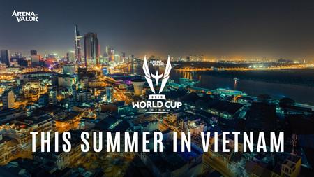 El Arena of Valor World Cup 2019 se jugará en Vietnam y repartirá 500.000 dólares en premios