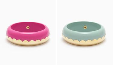 Los coloridos brazaletes con forma de dónut de Naomi Murrell