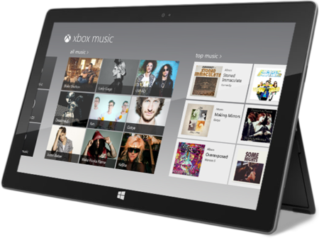 Xbox Music vendrá de serie con Windows 8 y WP8