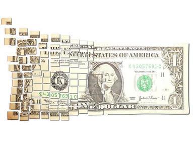 Mark Wagner hace arte con un dólar