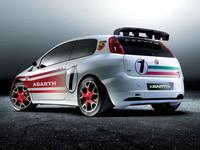 Presentación del Fiat Grande Punto Abarth S2000 en Alicante
