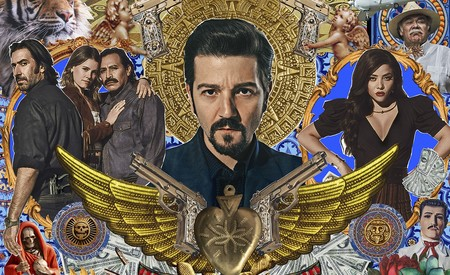 'Narcos México 2' ya tiene trailer, un arte muy folclórico, y a Diego Luna en muchos tonos sepias