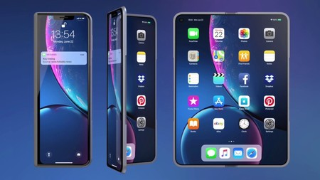 """Apple ha hecho un pedido de una """"gran cantidad"""" de pantallas plegables a Samsung según una filtración"""