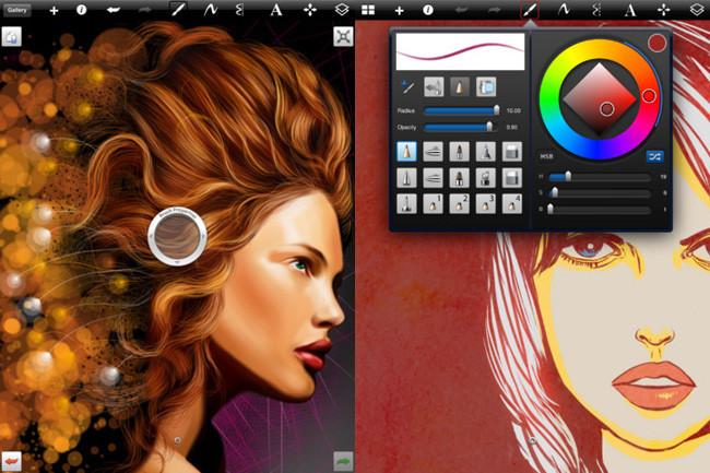 Aplicaciones de dibujo en iOS - sketch book