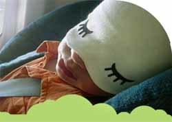 Gorro que ayuda a los niños a dormir