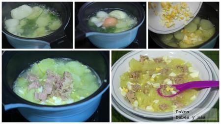 Patatas Caldosas Con Atun Bebes Y Mas