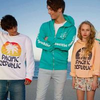 La escena surf de California inspira Pacific Republic, la propuesta colorida de Pull&Bear