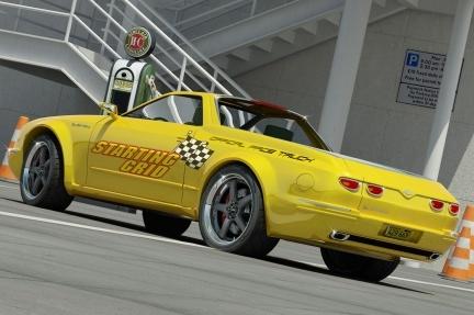 Reinterpretación del Chevrolet El Camino por Bo Zolland