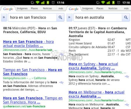 Google Search: La hora