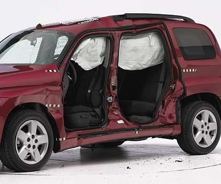 Chevrolet HHR - IIHS lateral