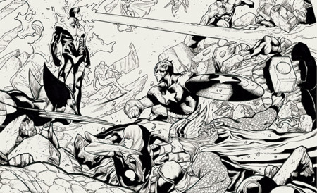 Superheroes Con N Los Dibujantes Espanoles Que Triunfan En Estados Unidos