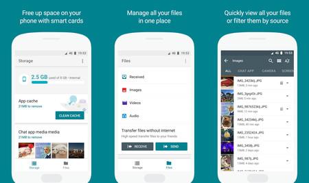 Google Files Go: el nuevo gestor de almacenamiento inteligente que mantendrá tu Android limpio