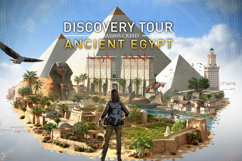 El Discovery Tour llega a Assassin's Creed Origins: el Egipto de Ubisoft se transforma en el documental definitivo