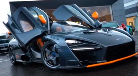 El McLaren Senna Le Mans no ha sido confirmado, pero se muestra así de espectacular en un concesionario