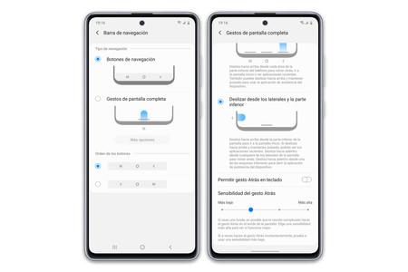 Samsung Galaxy Note10 Lite navegación