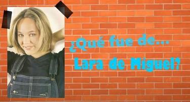¿Qué fue de Lara de Miguel, Sara en 'Compañeros'?