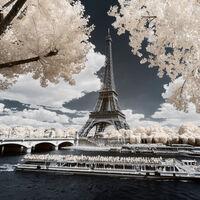 Francia como nunca antes la habías visto antes a través de las sugerentes fotografías infrarrojas de Pierre-Louis Ferrer
