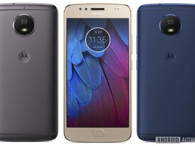 Moto G5S: la versión avanzada del gama media de Motorola posa para la cámara