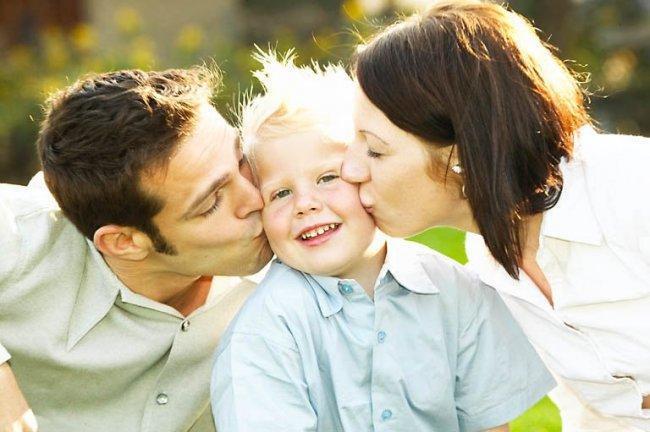 padres e hijo