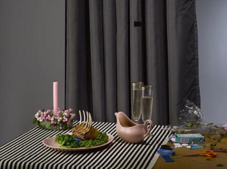 Una falsa cena de lujo