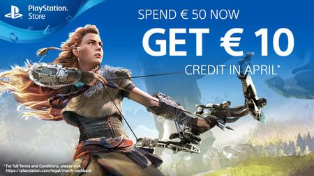 Sony regalará 10 euros a aquellos que gasten 50 euros en PlayStation Store durante el mes de marzo