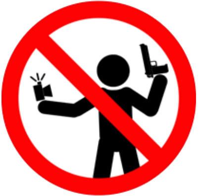 Los zurdos no pueden usar armas.