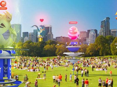 Pokémon GO recibe su mayor actualización: incursiones, gimnasios renovados y nuevos objetos